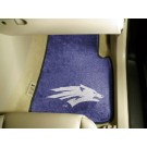 "Nevada Wolf Pack 17"" x 27"" Carpet Auto Floor Mat (Set of 2 Car Mats)"
