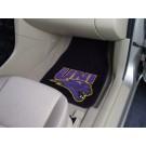 """Northern Iowa Panthers 17"""" x 27"""" Carpet Auto Floor Mat (Set of 2 Car Mats)"""