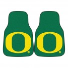 "Oregon Ducks 17"" x 27"" Carpet Auto Floor Mat (Set of 2 Car Mats)"