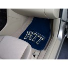 "Pittsburgh Panthers 17"" x 27"" Carpet Auto Floor Mat (Set of 2 Car Mats)"