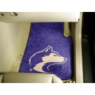 "Washington Huskies 17"" x 27"" Carpet Auto Floor Mat (Set of 2 Car Mats)"