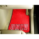 "Las Vegas (UNLV) Runnin' Rebels 17"" x 27"" Carpet Auto Floor Mat (Set of 2 Car Mats)"