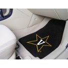"Vanderbilt Commodores 17"" x 27"" Carpet Auto Floor Mat (Set of 2 Car Mats)"
