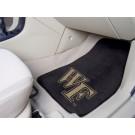 """Wake Forest Demon Deacons 17"""" x 27"""" Carpet Auto Floor Mat (Set of 2 Car Mats)"""