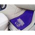 "Western Carolina Catamounts 17"" x 27"" Carpet Auto Floor Mat (Set of 2 Car Mats)"