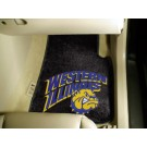"Western Illinois Leathernecks 17"" x 27"" Carpet Auto Floor Mat (Set of 2 Car Mats)"