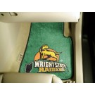"Wright State Raiders 17"" x 27"" Carpet Auto Floor Mat (Set of 2 Car Mats)"
