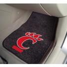 "Cincinnati Bearcats 17"" x 27"" Carpet Auto Floor Mat (Set of 2 Car Mats)"
