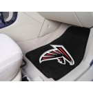 "Atlanta Falcons 17"" x 27"" Carpet Auto Floor Mat (Set of 2 Car Mats)"