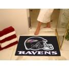 "34"" x 45"" Baltimore Ravens All Star Floor Mat"