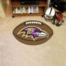 "22"" x 35"" Baltimore Ravens Football Mat"