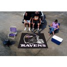 5' x 6' Baltimore Ravens Tailgater Mat by