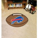 "22"" x 35"" Buffalo Bills Football Mat"