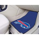 "Buffalo Bills 17"" x 27"" Carpet Auto Floor Mat (Set of 2 Car Mats)"