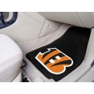 "Cincinnati Bengals 17"" x 27"" Carpet Auto Floor Mat (Set of 2 Car Mats)"