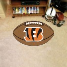 "22"" x 35"" Cincinnati Bengals Football Mat"