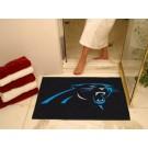 """34"""" x 45"""" Carolina Panthers All Star Floor Mat"""