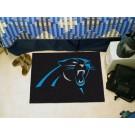 """Carolina Panthers 19"""" x 30"""" Starter Mat"""