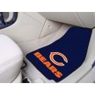 """Chicago Bears 27"""" x 18"""" Auto Floor Mat (Set of 2 Car Mats)"""