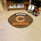 """22"""" x 35"""" Chicago Bears Football Mat"""