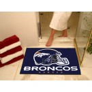"34"" x 45"" Denver Broncos All Star Floor Mat"