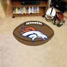 "22"" x 35"" Denver Broncos Football Mat"