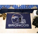 "Denver Broncos 19"" x 30"" Starter Mat"