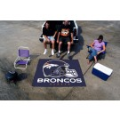 5' x 6' Denver Broncos Tailgater Mat