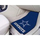 "Dallas Cowboys 17"" x 27"" Carpet Auto Floor Mat (Set of 2 Car Mats)"
