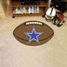"22"" x 35"" Dallas Cowboys Football Mat"