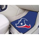 "Houston Texans 17"" x 27"" Carpet Auto Floor Mat (Set of 2 Car Mats)"
