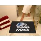 """34"""" x 45"""" Detroit Lions All Star Floor Mat"""