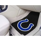 "Indianapolis Colts 17"" x 27"" Carpet Auto Floor Mat (Set of 2 Car Mats)"