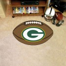 "22"" x 35"" Green Bay Packers Football Mat"