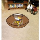 "22"" x 35"" Minnesota Vikings Football Mat"