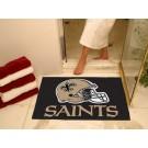 "34"" x 45"" New Orleans Saints All Star Floor Mat"