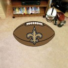 "22"" x 35"" New Orleans Saints Football Mat"