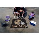 5' x 6' New Orleans Saints Tailgater Mat