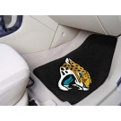 "Jacksonville Jaguars 17"" x 27"" Carpet Auto Floor Mat (Set of 2 Car Mats)"