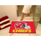 "34"" x 45"" Kansas City Chiefs All Star Floor Mat"