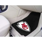 "Kansas City Chiefs 17"" x 27"" Carpet Auto Floor Mat (Set of 2 Car Mats)"