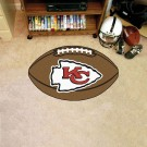 "22"" x 35"" Kansas City Chiefs Football Mat"