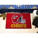 """Kansas City Chiefs 19"""" x 30"""" Starter Mat"""