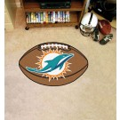 "22"" x 35"" Miami Dolphins Football Mat"