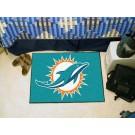 "Miami Dolphins 19"" x 30"" Starter Mat"