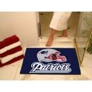 "34"" x 45"" New England Patriots All Star Floor Mat"