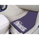 "New England Patriots 27"" x 18"" Auto Floor Mat (Set of 2 Car Mats)"