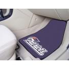 """New England Patriots 17"""" x 27"""" Carpet Auto Floor Mat (Set of 2 Car Mats)"""