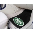 "New York Jets 17"" x 27"" Carpet Auto Floor Mat (Set of 2 Car Mats)"