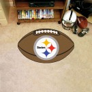 "22"" x 35"" Pittsburgh Steelers Football Mat"